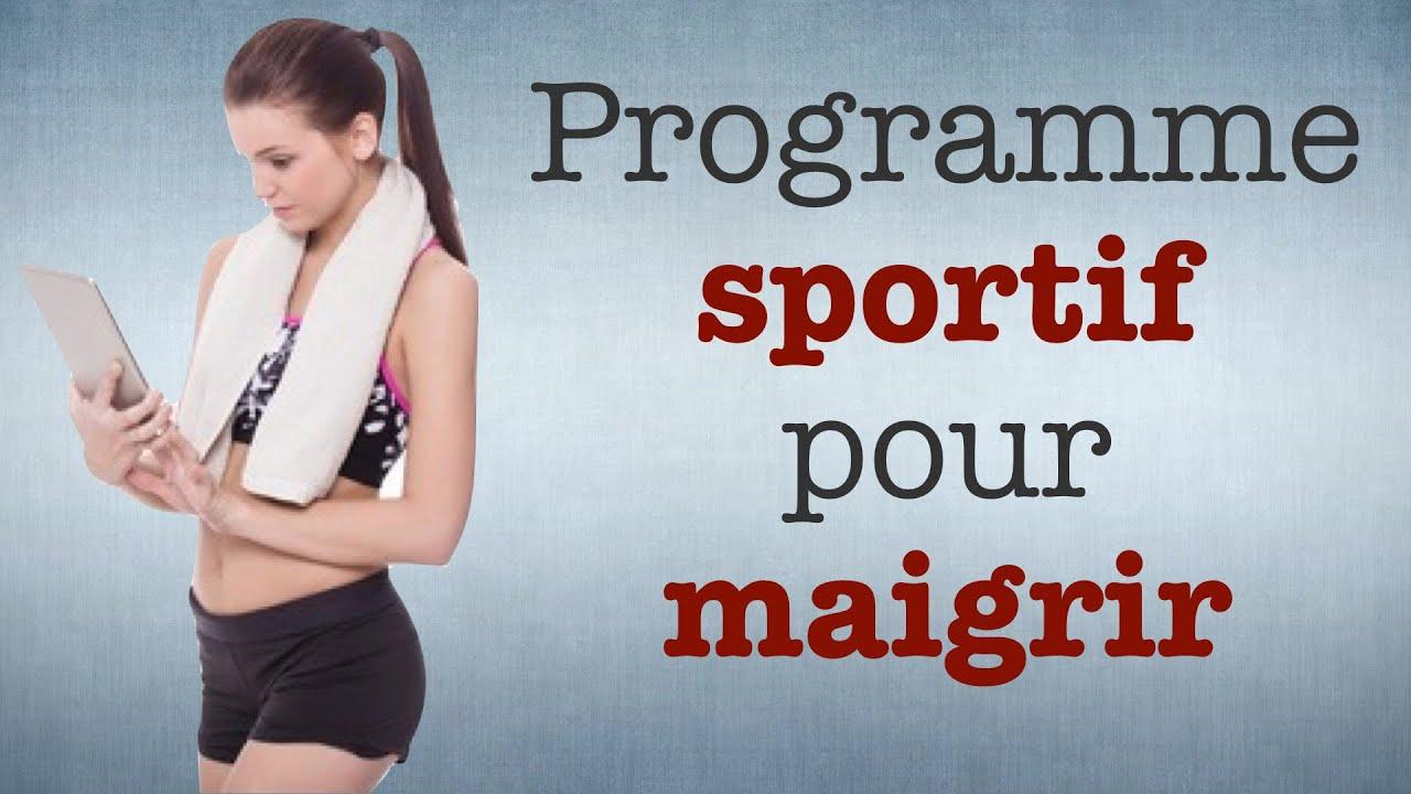 programme sportif pour maigrir